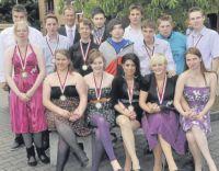 Abschlussklasse der Clarenbach-Schule 2012