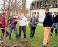 Aktiver Umweltschutz der Clarenbach-Schüler
