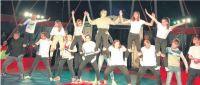 Vorhang auf für Zirkus Gildenstern an der Clarenbachschule