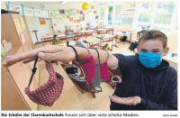 Schüler nähen für Schüler