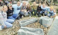 Brunnenbau an der Clarenbach-Schule
